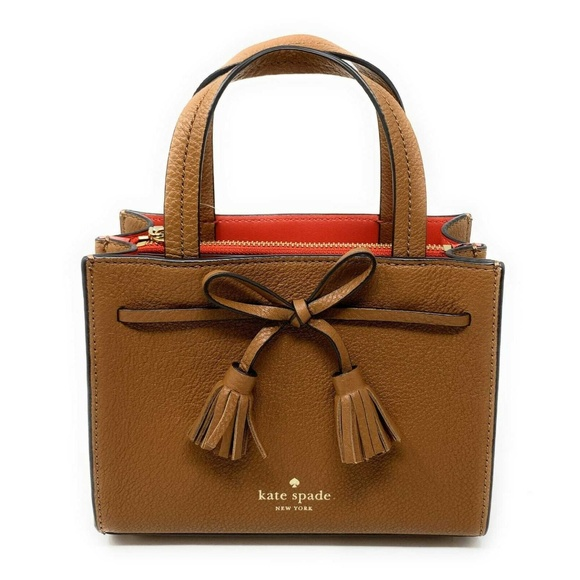 Kate Spade Handbags - Kate Spade Hayes Street Mini Satchel Crossbody Bag